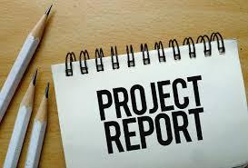 प्रोजेक्ट रिपोर्ट