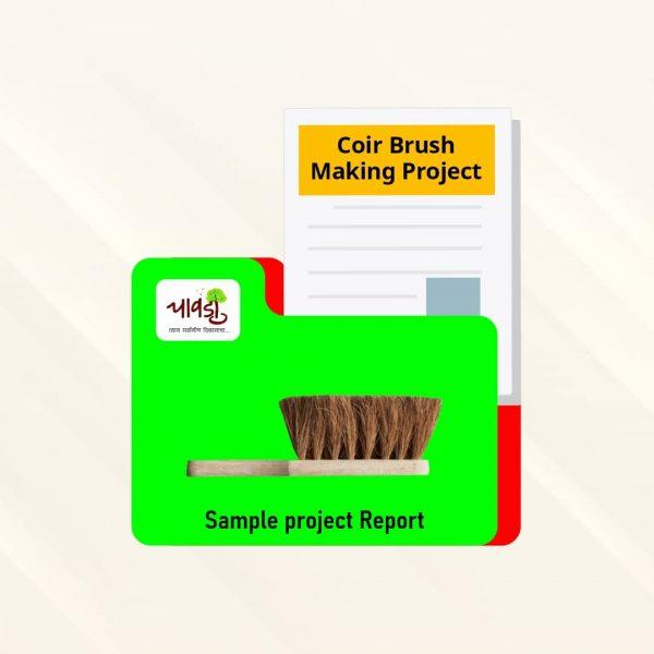 Coir Brush Making Sample Project Report