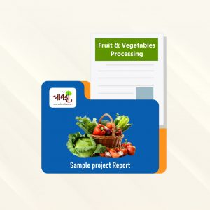 Fruit & Vegetables Processing Sample Project Report