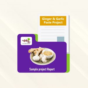 Ginge & Garlic Paste Sample Project Report