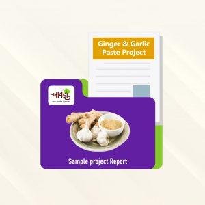Ginge & Garlic Paste Sample Project Report