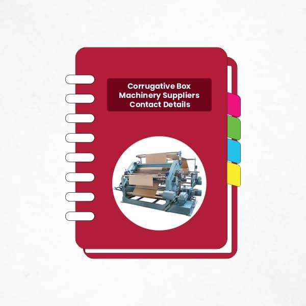 Corrugative Box Machinery suppliers