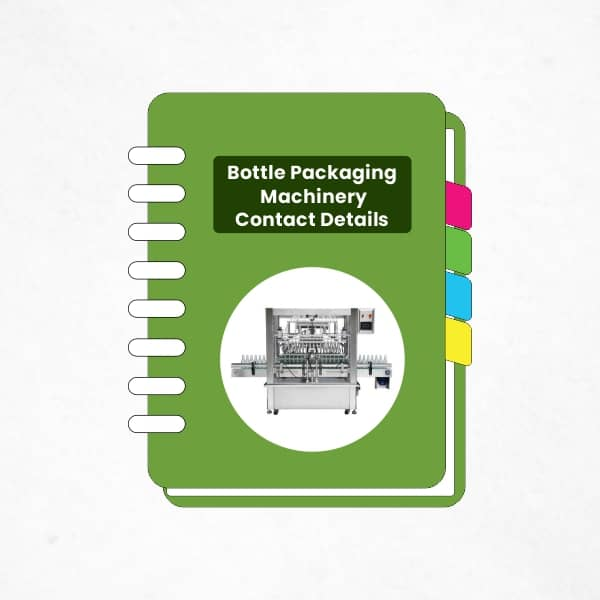 Bottle Packaging Machinery contact Details